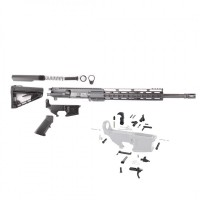 "AR-15 5.56 NATO 16"" Rifle Kit / Roger Stock / 12"" Slim Keymod Rail"